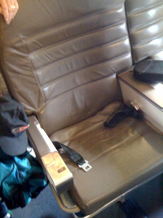 AA 1st Class Seat